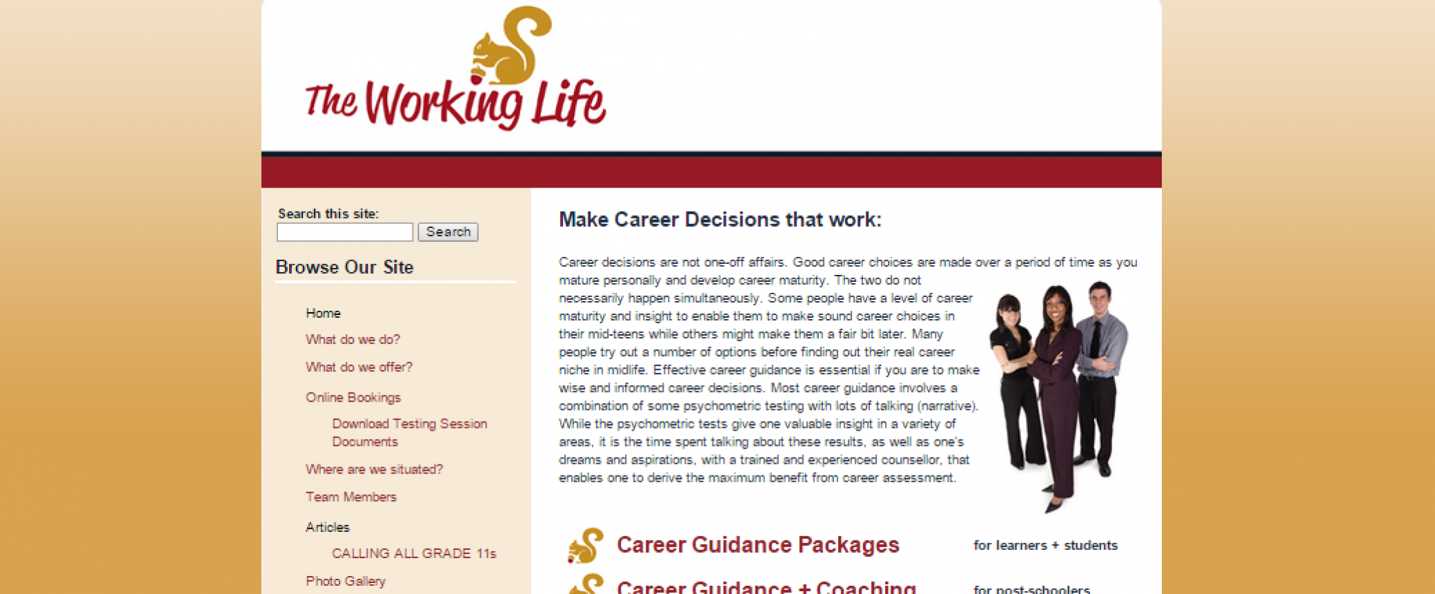 Career guidance: a selection of sites